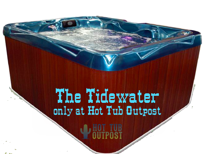 tidewater spa Hot Tub Outpost 3 person spa