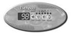 Emerald Spa control panel