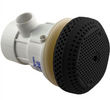Suction Fitting 3 3/4 Black GG-Balboa Complete 54-410-1754