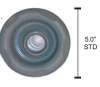 Artesian Spa 5 Inch Whirlpool Jet Gray 03-0750-48