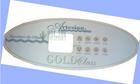 Artesian Gold Class 8 Button Control Panel Overlay 11-0130-70