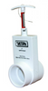 Valterra 2x2 Inch Slip Uni-Body PVC Slide Valve 2201X