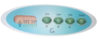 Emerald Spa 4 Button Overlay 50014750