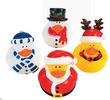 Christmas Ducks Set of 4 Holidays