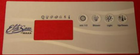Elite Spa 4 Button Overlay 105905