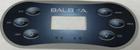 Artesian Balboa Control Panel Overlay OP11-0151-08