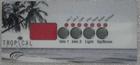LA Spa Tropical Overlay 110003 2 Pumps