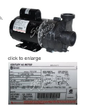 2HP Pentair 2-Speed Pump 1056012