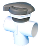 LA Spas 2 Inch Diverter Valve PL-40165L GLO 3-Way ADFD571