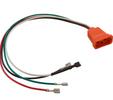 Hydroquip Molded Receptacle 09-0026C Fiber Optic 8-4 Orange Air VH