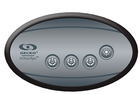 4 button gecko oval control panel
