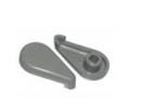 Dynasty Air Control Handle Gray 1028