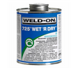 eld On Wet R Dry PVC Glue 725 Blue Cement