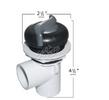 Waterway 1 Inch Top Access Diverter Valve 600-3249DSG-PS