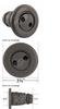 Cal Spas 3 3/8 Inch Pulsator Jet PLU2170122 Dual Hole