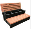 LASS36-SC 36 inch hot tub step with hinged lid