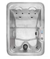 Mystic plug and play 120 volt hot tub by QCA Spas. Free shipping in the continental U.S.A.