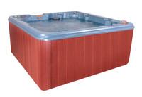 Dream Weaver hot tub side view.