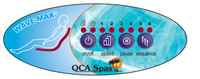 Wavemax control panel replacement QCA Spas including overlay.