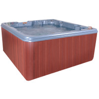 Juno hot tub side view