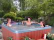 Juno hot tub by QCA Spas.