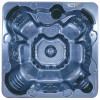 Moonstone hot tub by QCA Spas.