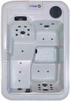 QCA Spas Amethyst Plus hot tub spa on sale at Hot Tub Outpost.