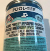 PoolTite Blue PVC Cement Glue 1/2 Pint Hot 2356S