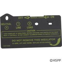 Intermatic Insulator Clear Short