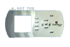 Emerald Spa Control Panel Overlay 51007300 IN K600