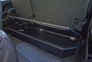 SUVault® Model 3011 2007 - 2015 Silverado / Sierra Crew Cab Under Seat Long Gun Safe