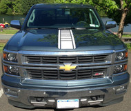 Strobe Center Hood Stripe - 2014-2015 Silverado