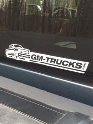 GM-Trucks.com Decals