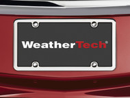WeatherTech StainlessFrame License Plate Frame