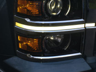 Headlight Accent Decal Kit For 2014-2015 Chevrolet Silverado 1500