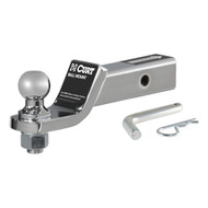 "CURT Loaded Ball Mount with 2 Inch Receiver (Includes 1 7/8"" trailer ball, pin & clip 