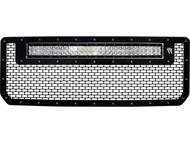 "Rigid Industries 2015-2016 GMC 2500/3500 Grille with 30"" RDS"