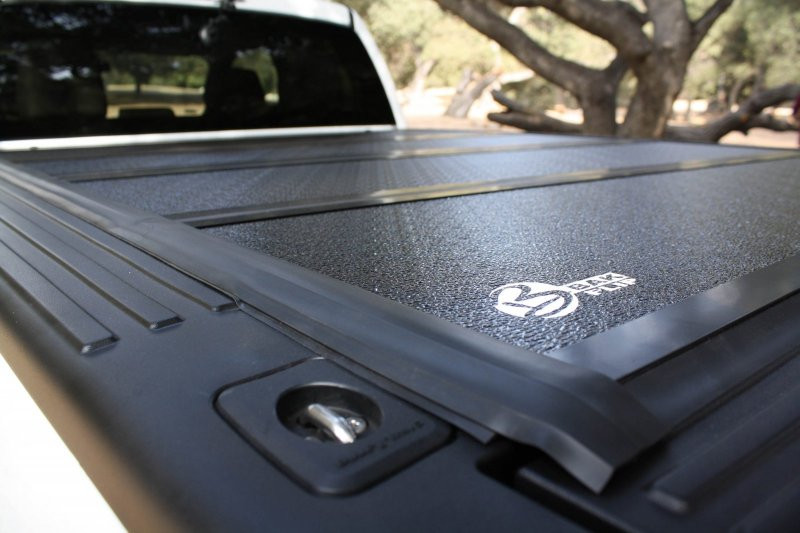 2014 2016 Silverado Sierra 1500 Hard Folding Tonneau Cover 6 6