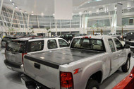 2014-2016 Silverado/Sierra Hard Folding Tonneau Cover (8' Bed) | BAKFlip HD