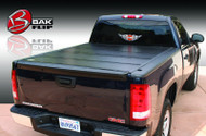 1988-2013 Silverado/Sierra Hard Folding Tonneau Cover (8' Bed) | BAKFlip G2