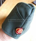 wo106 - VP Volkspolizei and BePo Riot Police officer overseas cap Schiffchen - different sizes available