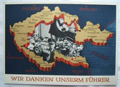 opc090 - Sudetenland Czech Occupation - Hitler Propaganda Postcard