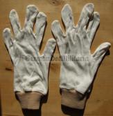 oo093 - East German NVA Army pair of white gloves