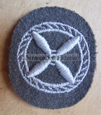 om595 - NVA Flugschueler Student Pilot qualification sleeve patch