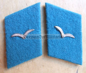 sbbs014 - 33 - pair of NVA Air Force enlisted EM Collar Tabs - Dress Uniform