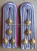sblap024 - HAUPTMANN - Panzertruppen - Tank Service - pair of shoulder boards