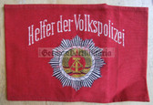 wo044 - HELFER DER VOLKSPOLIZEI - Police Voluntary Helper armband