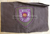 wo046 - 2 - ZV ZIVILVERTEIDIGUNG - Civil Defence armband