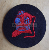 om217 - Volksmarine Taucher - Diver Specialist Sleeve Patch for EM & NCO - blue