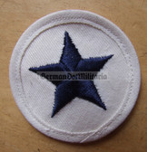 om215 - 3 - Volksmarine Nautical Service Specialist Sleeve Patch for EM - white